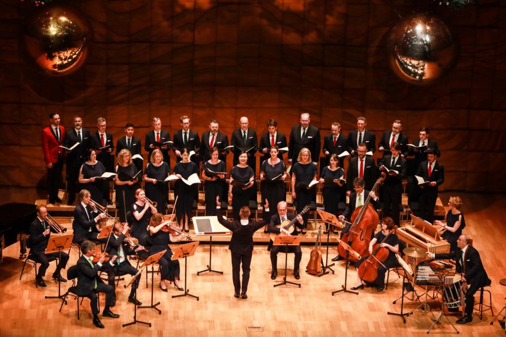 The Australian Brandenburg Orchestra and Brandenburg Choir. *