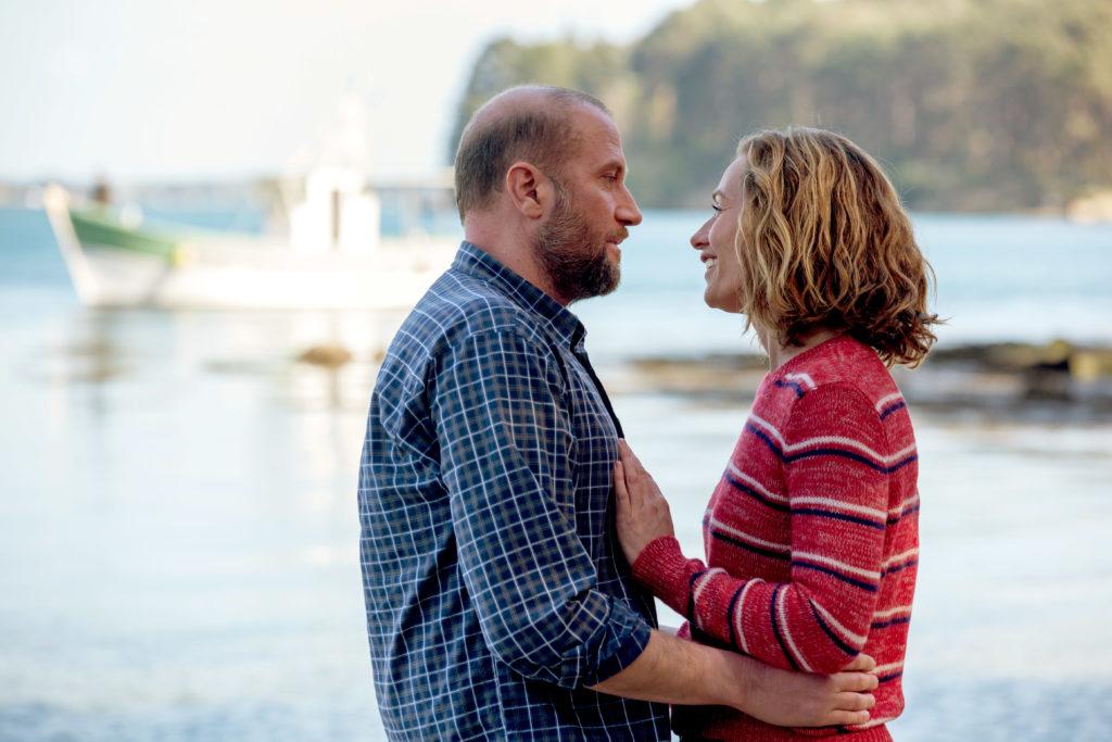 Francois Damiens (Erwan) and Cecile de France (Anna).