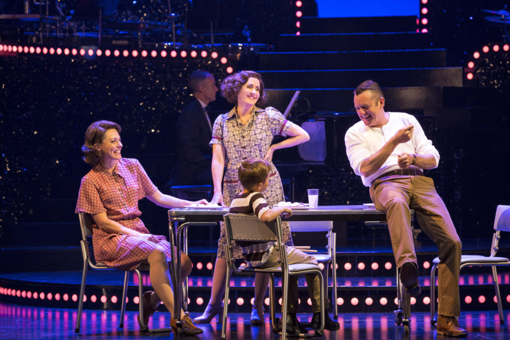 From left Marney McQueen, Rodney Dobson and Hudson Sharp in Dream Lover