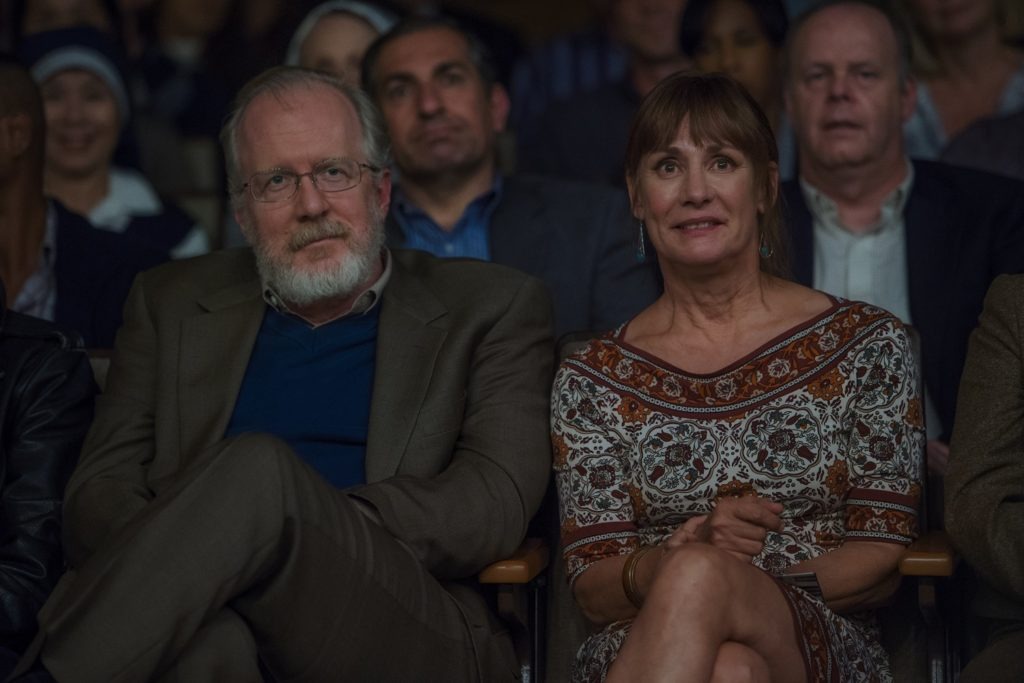 Tracy Letts and Laurie Metcalf Photo credit: Merie Wallace